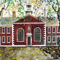"""Geffrey Museum"" by John Piper"
