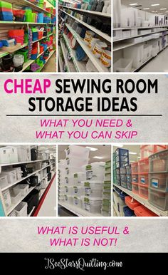 Sewing storage ideas dollar stores room organization 25 ideas for 2019 Sewing Room Storage, Sewing Room Organization, Craft Room Storage, Fabric Storage, Storage Ideas, Organization Ideas, Sewing Room Decor, My Sewing Room, Craft Room Organizing