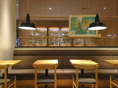 I went to MONOCLE cafe in Tokyo. MONOCLE magazine is world well known magazine, even it had been established in The magazine is not only about business Monocle Cafe, Monocle Magazine, Conference Room, Ceiling, Japan, Table, Furniture, Home Decor, Home