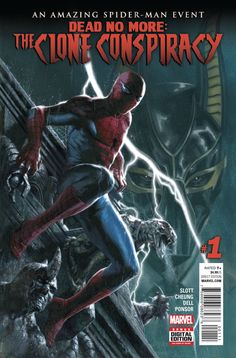"""""""DEAD NO MORE"""": The Jackal is back and has conquered death. The Amazing Spider-Man is outmatched by his classic enemy's army. Does the wall-crawler stand a chance? SHOULD he stand in The Jackal's way"""