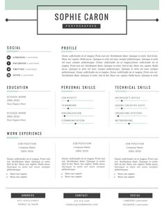 Cool  Best Free Resume  Cv Templates Psd Professionally