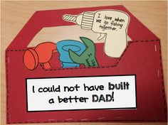 father's day card ks2