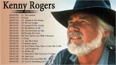 Kenny Rogers Greatest Hits - Top Hits Of Kenny Rogers - Kenny Rogers Bes. Country Music Stars, Old Country Songs, Classic Country Songs, Best Country Music, Country Music Quotes, Country Music Videos, Country Music Artists, Country Singers, Top Country Hits