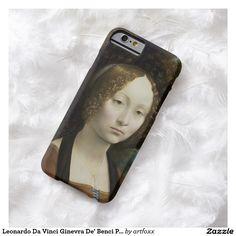 Leonardo Da Vinci Ginevra De' Benci Painting Barely There iPhone 6 Case