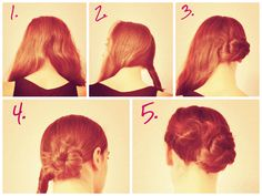 Easy STEP by STEP low side bun tutorial ; Tutorial Chignon, Hairstyles, Party, Blog, Wedding, Fashion, Haircuts, Valentines Day Weddings, Moda