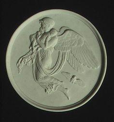 Night (one of a pair) Royal Porcelain Manufactory Bertel Thorvaldsen 1885–99