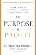 """In The Purpose Is Profit, Ed """"Skip"""" McLaughlin shares his experiences launching and building two new business ventures. His ventures included a passion project that failed and a business built on his distinctive competence, which thrived. McLaughlin's experiences taught him how to obtain funding without losing control, how to build an enduring entrepreneurial brand, and why profit should be an important consideration in every business decision."""