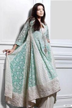 Women Pakistani Dress - Shalwar Kameez