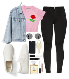 """flowers are everything"" by camiiigonzalez ❤ liked on Polyvore featuring Prada, Gap, The Giving Keys, Marc Jacobs and Burberry"