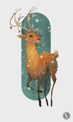 My christmas card illustration for this year! yay! christmas #illustration