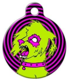 Custom Personalized Pet ID Tag for Dog Collars ZOMBIE RESPONSE K9 UNIT CAMO