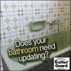 Does your bathroom need updating? We can remodel your bathroom in just ONE DAY! And it won't cost you an arm and a leg to do it. Call us or visit us online to find out more. #BathroomRemodelAtlanta #BathroomRemodelBirmingham