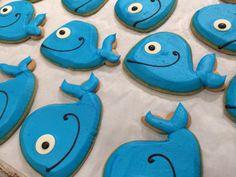 Whale sugar cookies!