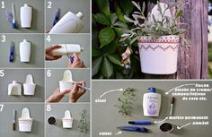 Creative Recycling – Tutorial Using Plastic Bottle #PlasticsInTheGarden