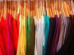 American Apparel is colors ! #AmericanApparel #colors #display