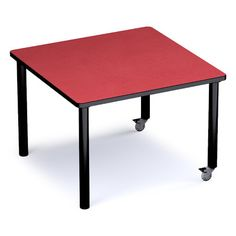 """Russwood Palette 42"""" x 42"""" Square Activity Table Side Finish: Gray, Top Finish: Pewter Brush"""