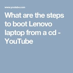 This Video Show You that What are the steps to boot Lenovo laptop from a cd. Still, you feeling any issue to do that dial our helpline number S. Those Are My Chanclas, Youtube, How Are You Feeling, Laptop, Ireland, Irish, Laptops, Youtubers, The Notebook