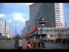 """Любуемся Москвой из окна экскурсионного автобуса - октябрь 1991 """"Все так..."""