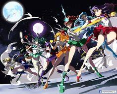 What an action shot! ✫★ Admin Sailor Saturn ★✫ Art by HoHOOTing on Pixiv Arte Sailor Moon, Sailor Moon Fan Art, Sailor Moon Character, Sailor Moon Manga, Sailor Neptune, Sailor Uranus, Sailor Moon Crystal, Sailor Mars, Sailor Saturno