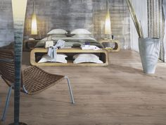 Welcome to Pergo, the natural choice in flooring when you want a durable, easy to install laminate, vinyl or wood parquet floor. Bedroom Laminate Flooring, Modern Floor Tiles, Interior Architecture, Interior Design, Timber Flooring, Contemporary Bedroom, Floor Design, Bedroom Colors, Home Remodeling