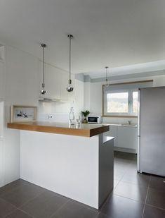 Medidas minimas para barras de cocina buscar con google for Decoracion pisos pequenos
