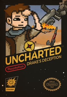 Playstation Consoles, Playstation Games, Ps4, Uncharted Drake's Fortune, Video Gems, Retro Nes, Uncharted Series, Nathan Drake, Games Box