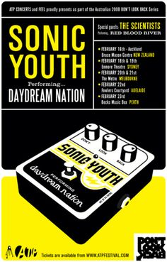 ATP, Sonic Youth poster