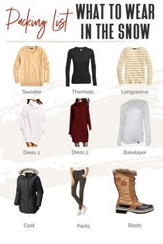 It's important to note that bulky fabrics won't necessarily make you feel warmer! You have to choose the right cold weather fabrics and layer your items strategically. But before you can pack, you need to know what to wear in the snow. #TravelFashionGirl #TravelFashion #TravelClothign #winteroutfits #snowoutfits #wardrobeideas Travel Outfits, Travel Wardrobe, Packing List For Travel, Wardrobe Ideas, Winter Wardrobe, Travel Style, Cold Weather, Stylish Outfits, Winter Outfits