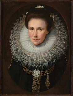 Jan Anthonisz Van Ravesteyn, Portrait of a Lady (1614)