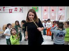 Ritim ve Baget Dansı Ormanda Tavşanlar Orff Çalışması Ritim ve Dikkat Koordinasyonu Aykut öğretmen - YouTube