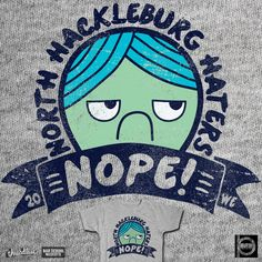 NORTH HACKLEBURG HATERS on Threadless