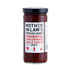 Mother-In-Law's Gochujang Fermented Chile Paste Concentrate takes Korea's most popular condiment to delicious and complex flavor heights.