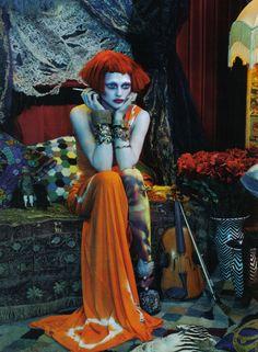 high-on-high-fashion: Vogue Italia |Bohemian... #gothic #goth #bohemian