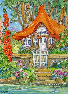 Heaven by the Water Storybook Cottage Series | Flickr - Photo Sharing!