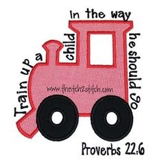 Train Up A Child Proverbs 22:6