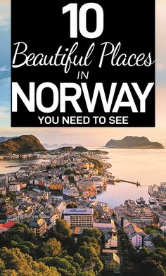 Going on a trip to Norway? Need some inspiration for your Norway itinerary? Here are 10 beautiful places in Norway, from Bergen to fjords, and Lofoten to Flam to help you enjoy your Norway trip! Travel Jobs, Ways To Travel, Best Places To Travel, Shopping Travel, Travel Deals, Travel Hacks, Travel Advice, Budget Travel, Travel Guides