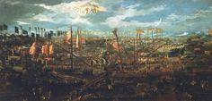 Battle of Lepanto in 1571 / Correr ptg.