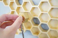 Iconic 50's Phrase 'Honey I'm Home!' Inspired This Adorable Key Holder - DesignTAXI.com