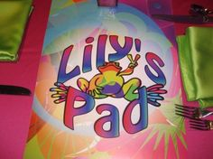 Clever Bat Mitzvah logo = Lily's Pad