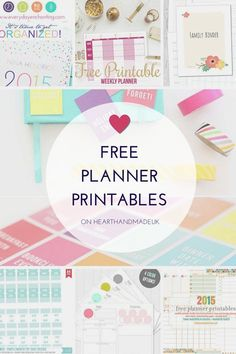 For organizing things you require printable planners.If you are looking for beautiful free planner printable like calendars then do visit Heart Handmade.