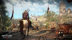 Jeux Vidéo The Witcher 3: Wild Hunt  Witcher Hunt Fond d'écran