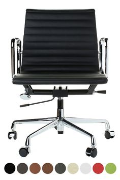 Buy Charles E. Office Aluminium Group Chair with FREE UK and European delivery. Swivel UK supply the highest quality reproduction furniture to buy online. Charles Eames, Home Office Space, Home Office Design, Office Decor, Small House Interior Design, Room Setup, Eames Chairs, Dream Rooms, My New Room