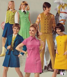 60s And 70s Fashion, Fashion Mode, Mod Fashion, Vintage Fashion, Womens Fashion, Cheap Fashion, Gothic Fashion, Robes Vintage, Vintage Outfits