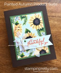 SNEAK PEEK from the Stampin' Up! Holiday catalog of the Painted Autumn Product Suite.  Read more https://stampinpretty.com/2017/07/stampin-holiday-catalog-sneak-peeks.html