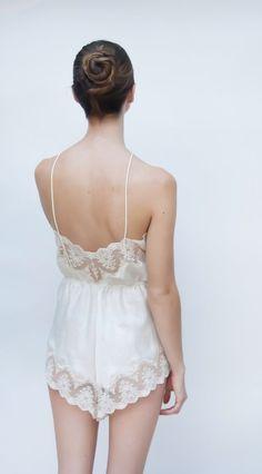 silk romper…so lovely