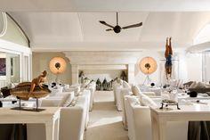 L'Olivo Restaurant Terrace at Capri Palace