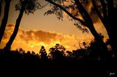 Sunset at Acampamento Batista Pioneiro ABP