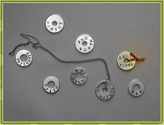 Stamped Washer Necklace Tutorial