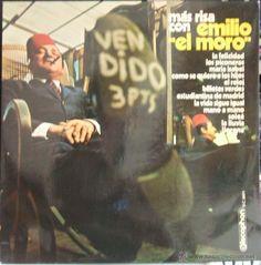 EMILIO EL MORO - MAS RISA CON {LP} - VG+ / VG+