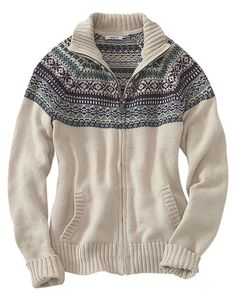 Carhartt Folk Pattern Cardigan Sweater for Ladies | Bass Pro Shops